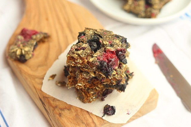 Rustic Oatmeal Berry Bread (No Added Sugar) 5