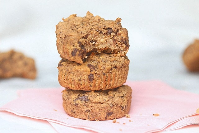 Chocolate Chip Cookie Cups (No Added Sweetener) 2