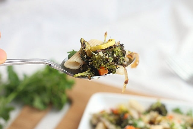 Roasted Vegetable Pasta Primavera 3