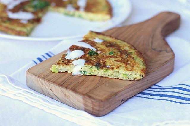The Big Cauliflower Scallion Pancake 3