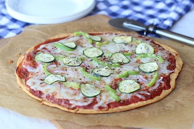 Red Lentil Pizza Crust 4