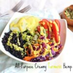 All-Purpose Creamy Turmeric Hemp Dressing