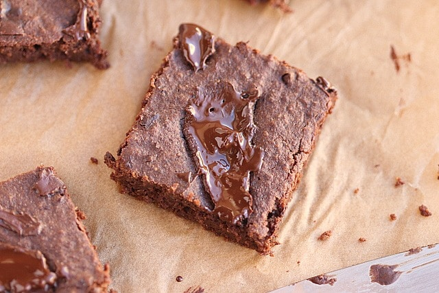 Small Batch Fudgy Buckwheat Brownies