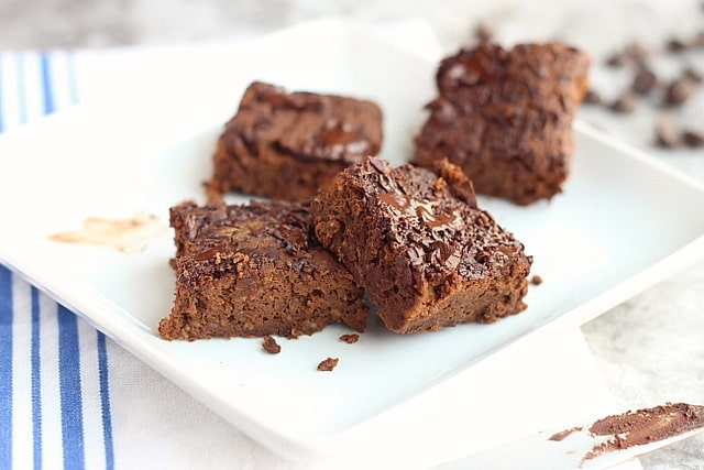 Oil-Free Black Bean Brownies (Lower Sugar)