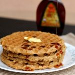 Easy Gluten-Free Oatmeal Cookie Waffles