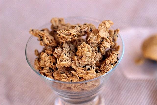 Addictive Peanut Butter Granola