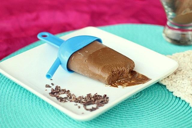Chocolate Pudding Pops (Vegan, Paleo)