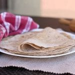 Rustic Whole Grain Flax Tortillas