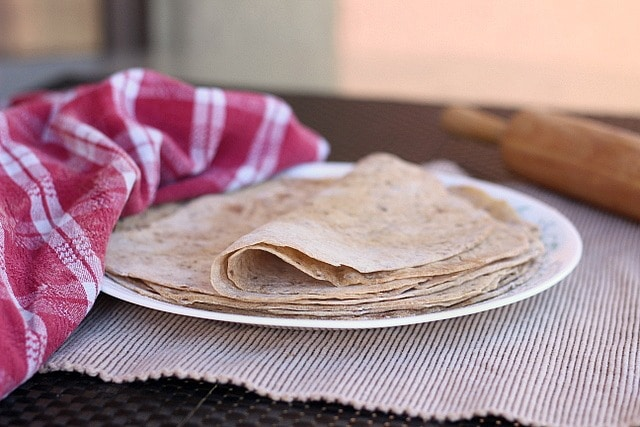 Whole wheat tortillas that are vegan