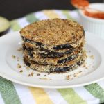 Baked Fried Eggplant