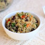Southwestern Quinoa and Black Bean Salad