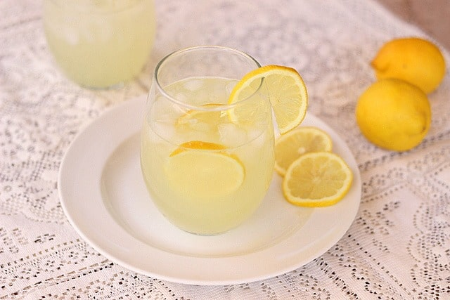 Almost Sugar-Free Lemonade