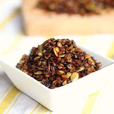 Grain-Free, Nut-Free Granola (Vegan)