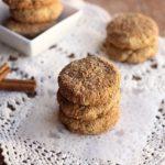 82 Calorie Oatmeal Snickerdoodles (Vegan, Gluten-Free)