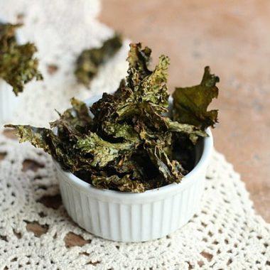 Easy, Cheezy Kale Chips (Vegan, Paleo)