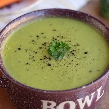 Lemon Broccoli Soup