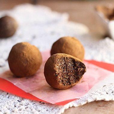 Kid-Friendly Carob Oat Truffles (Nut-Free, Date-Free, Vegan)