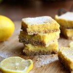 Healthy Honey Lemon Bars