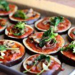 Low Carb Eggplant Pizzas (Paleo, Vegan, Gluten-Free)