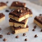 No-Bake Cookie Dough Candy Bars