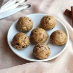 No-Bake Chocolate Chip Cookie Dough Balls (Date-Free, Vegan)
