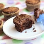 Double Chocolate Chip Muffins (Oil-Free, GF, Vegan) –Video
