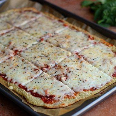 Thin and Rustic Quinoa Pizza Crust –Video