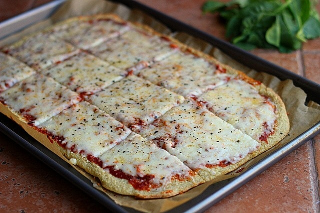 Thin and Rustic Quinoa Pizza Crust –Video