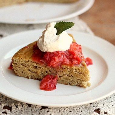 Healthy, Grain-Free Strawberry Shortcake (Dairy-Free)