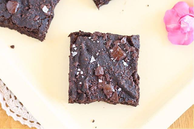 Healthy fudgy brownies recipe