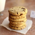 Chickpea Flour Chocolate Chip Cookies (Video)