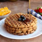 Easy Chickpea Flour Waffles (Gluten-Free)