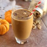 Pumpkin chocolate smoothie/shake
