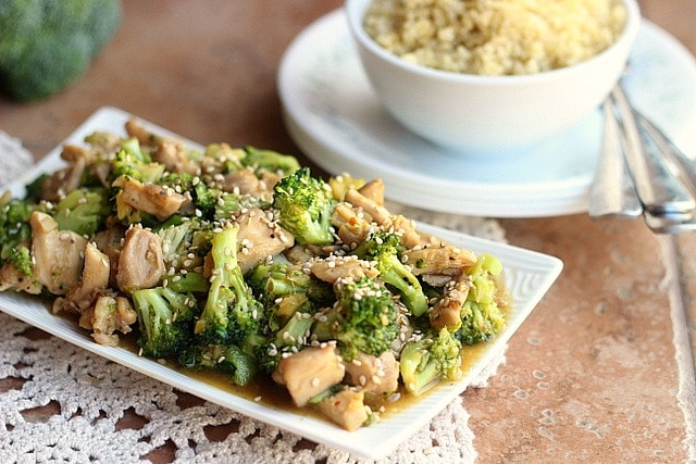 Sesame Chicken and Broccoli Stir-Fry (GF, Nut-Free) 3