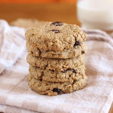 Healthy oatmeal raisin cookie recipe
