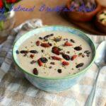 Doughy Oatmeal Breakfast Bowl (Vegan, Gluten-Free)