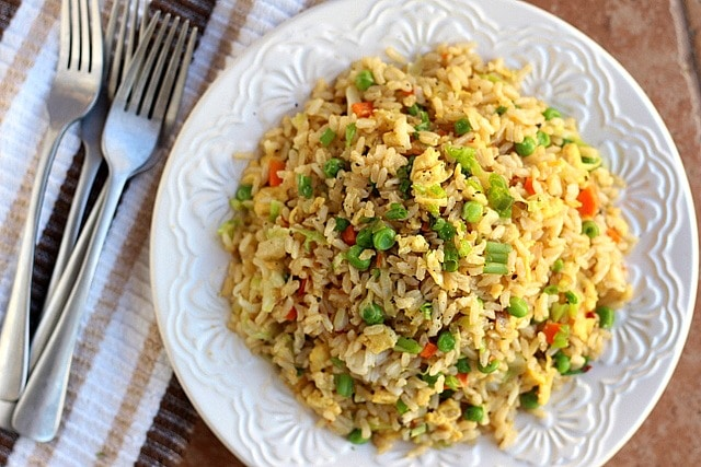 Better Than Take-Out Fried Rice (Vegetarian, Gluten-Free) 2