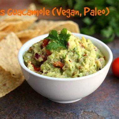 Sinless Guacamole (Vegan, Paleo)