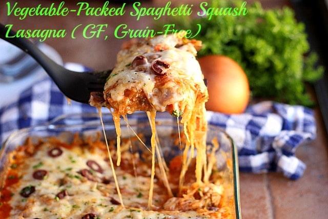 Vegetable-Packed Spaghetti Squash Lasagna (Gluten-Free, Grain-Free) 0