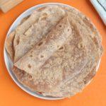 4-Ingredient Spelt Flour Tortillas