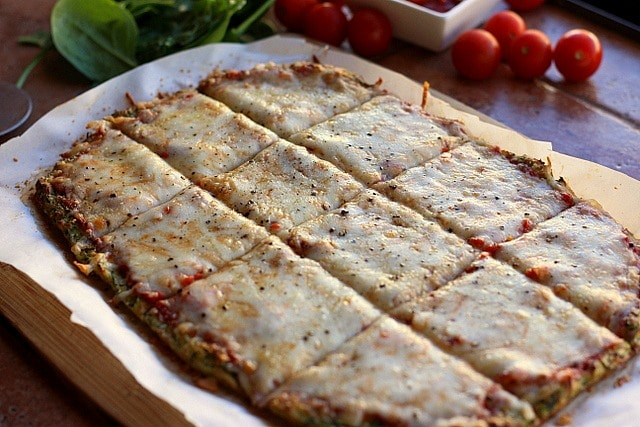 Nut-Free and Gluten-Free Zucchini Pizza Crust 4