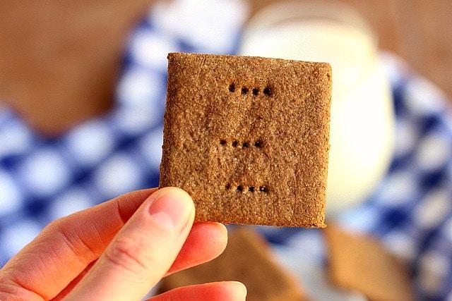 Gluten-Free Buckwheat Graham Crackers (Vegan) 4