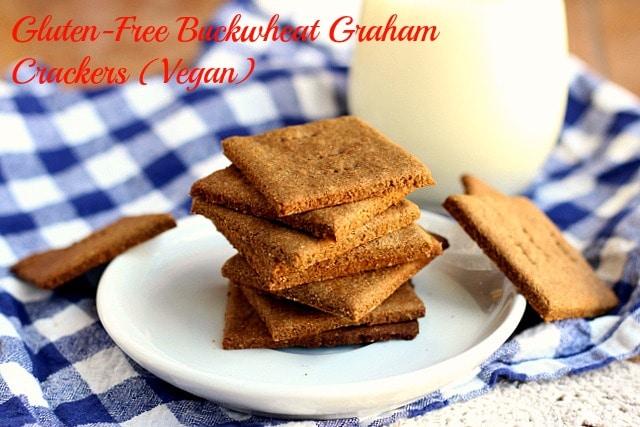 Gluten-Free Buckwheat Graham Crackers (Vegan)