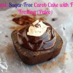 Flourless, Sugar-Free Carob Cake with Fudge Frosting (Paleo)–Video