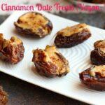 Frozen Cinnamon Date Treats (Vegan, Paleo)–Video