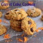 Carrot Cake Cookies (Paleo)