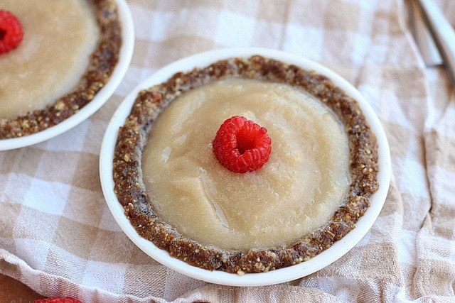 Easy Raw Pear Tarts (Vegan, Paleo) 2