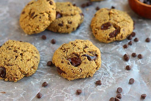 Low Sugar Chocolate Chip Quinoa Cookies (Gluten-Free) 6