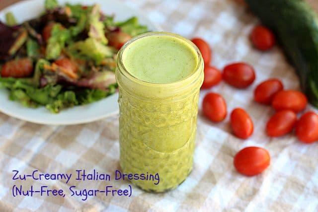 Zu-Creamy Italian Dressing (Nut-Free, Sugar-Free)
