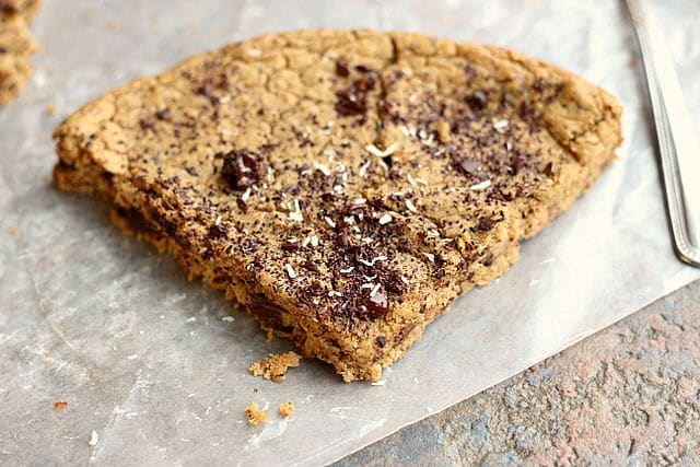 Chocolate Chip Cookie Slice (Sugar-Free, Grain-Free, Nut-Free) 2